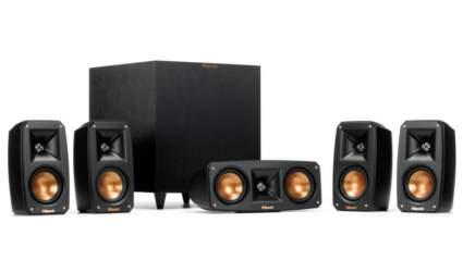 klipsch black surround sound