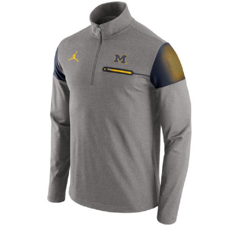 michigan wolverines football nike jordan jumpman gear apparel jackets