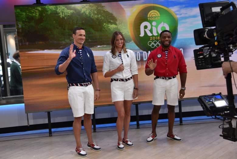 Closing Ceremony uniforms, Team USA uniforms, Ralph Lauren, Ryan Lochte