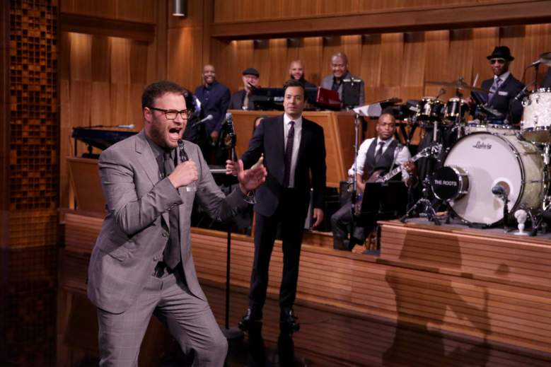 Lip Sync Battle, Seth rogen, Jimmy Fallon, Tonight Show, NBC, Jimmy Fallon Lip Sync Battle