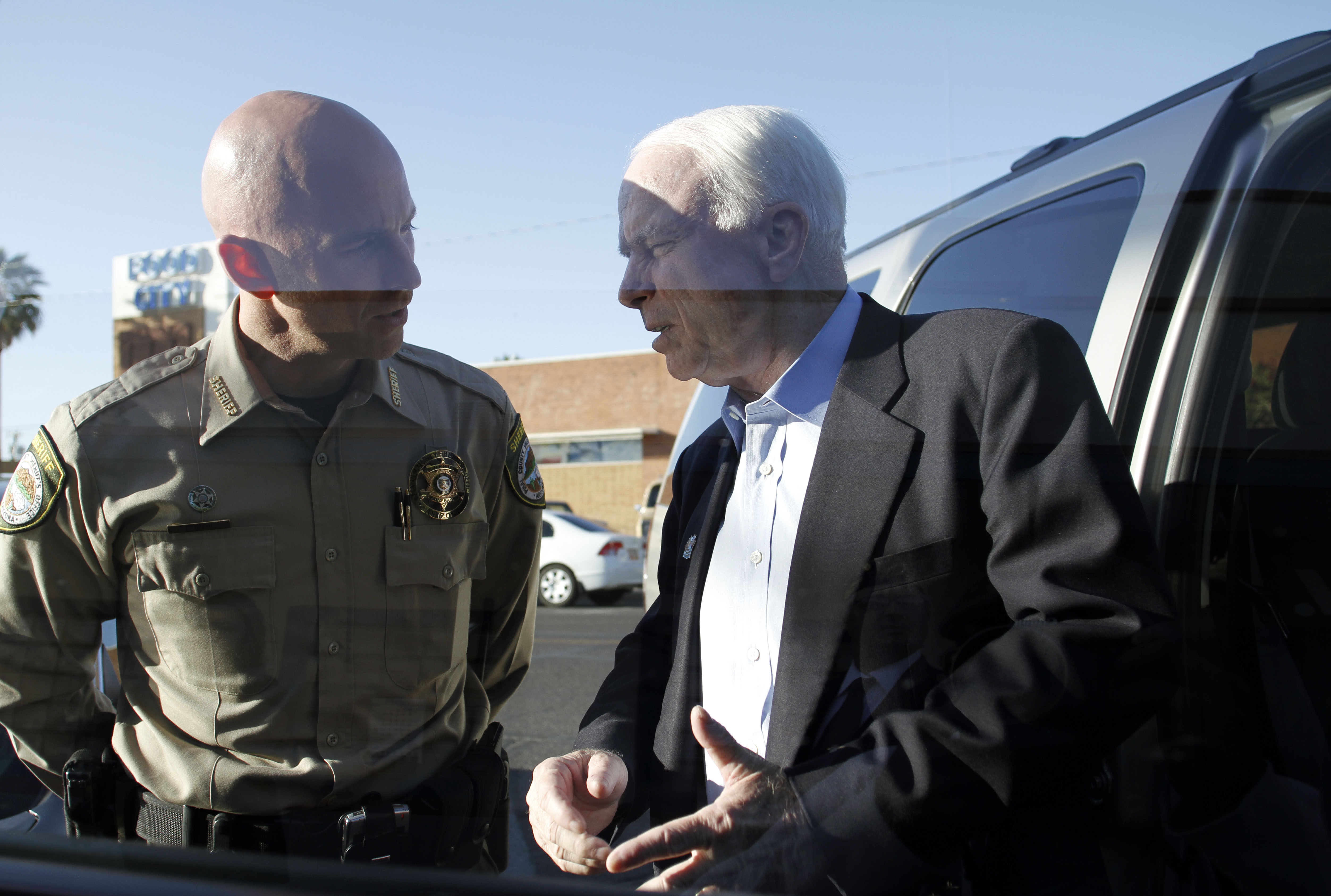Sheriff Paul Babeu with Senator John McCain. (Facebook)