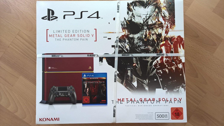 PS4 Bundle MGSV