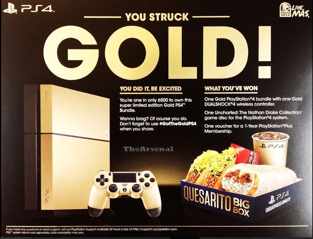 Golden PS4