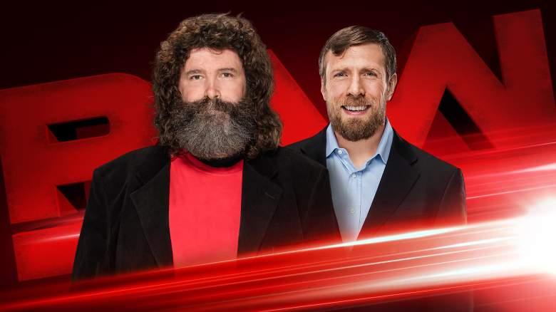 Monday Night Raw August 8th, Monday Night Raw Daniel Bryan, Monday Night Raw match results