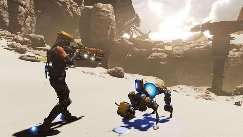 ReCore Gameplay Trailer Gamescom