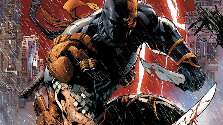 DC comics, Batman villain, Slade Wilson, Deathstroke