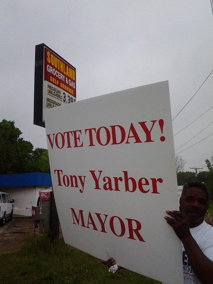 mayor tony yarber