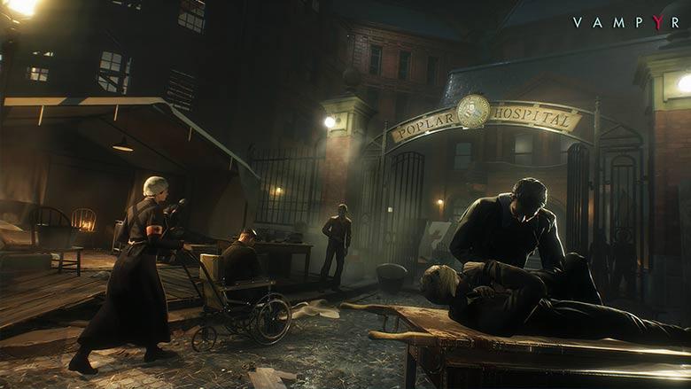 vampyr gameplay trailer