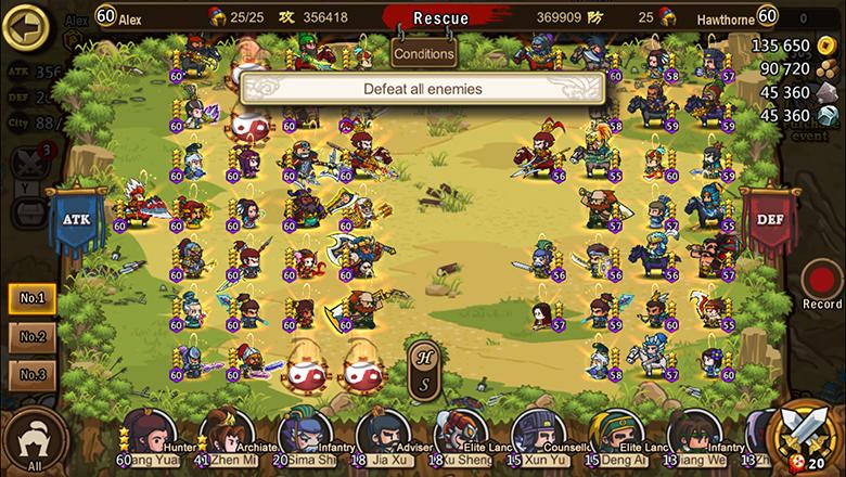 Mini Warriors Three Kingdoms