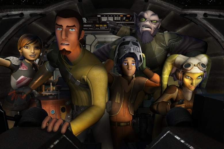 Star Wars Rebels, Ghost Crew, Kanan Jarrus, Ezra Bridger, Hera, Star Wars Rebels voices
