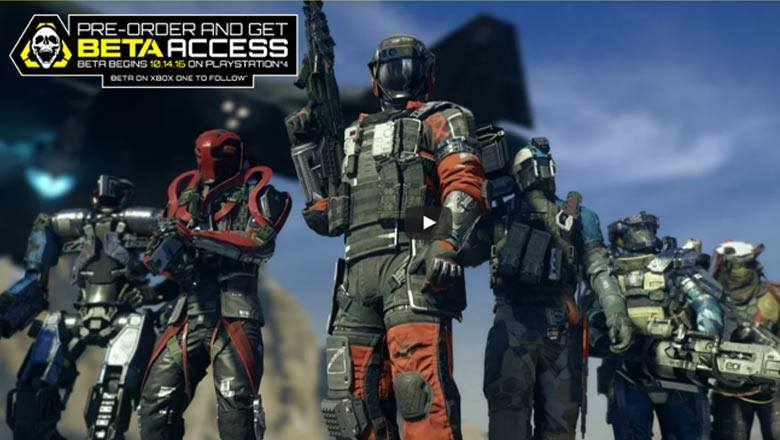 How to Get into the CoD Infinite Warfare Beta