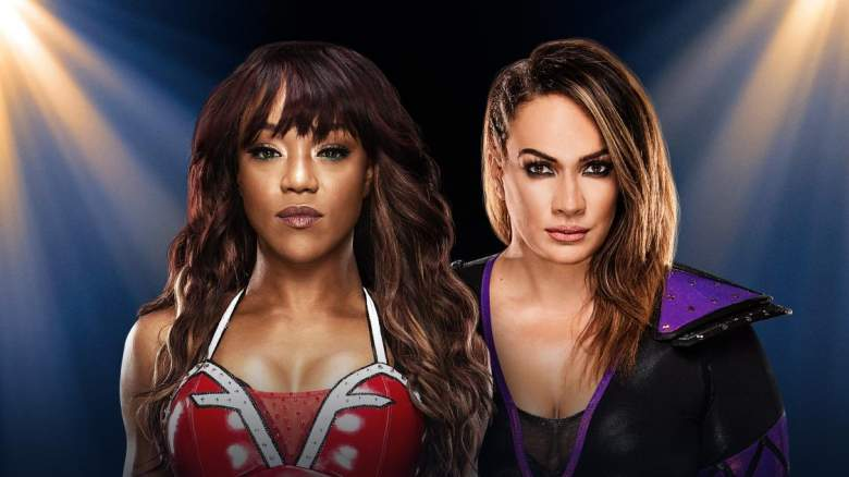 Nia Jax Alicia Fox, Nia Jax Alicia Fox clash of champions, Nia Jax Alicia Fox match