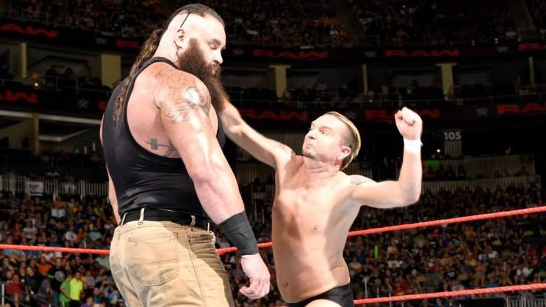 James Ellsworth match, James Ellsworth raw match, James Ellsworth braun strowman