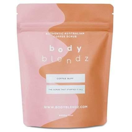 coffee face and body scrub