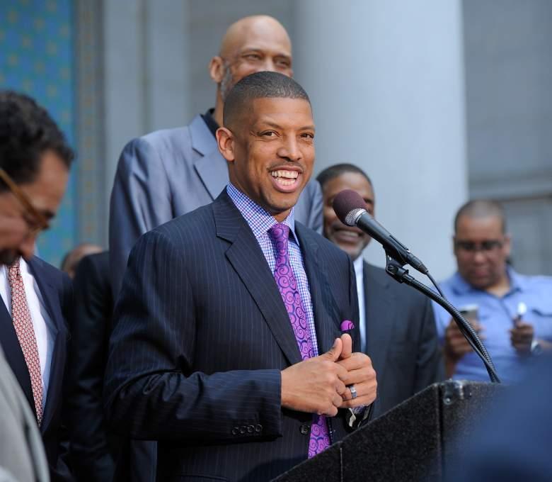 Sacramento mayor Kevin Johnson