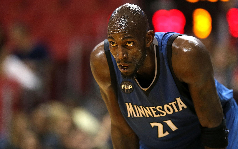 Kevin Garnett Timberwolves vs Heat