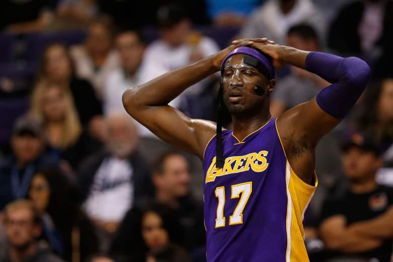Roy Hibbert Lakers vs. Suns
