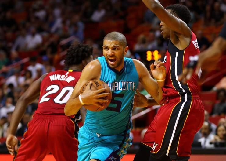 Nicolas Batum Hornets vs. Heat
