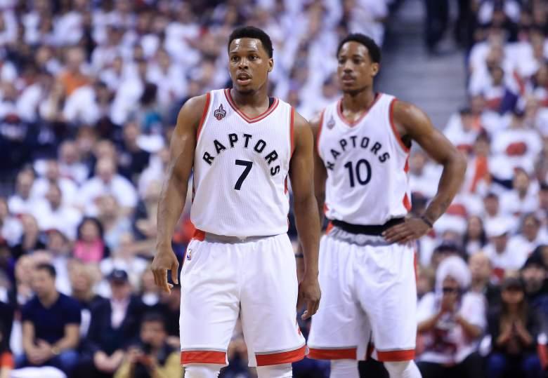 Kyle Lowry DeMar DeRozan Toronto Raptors