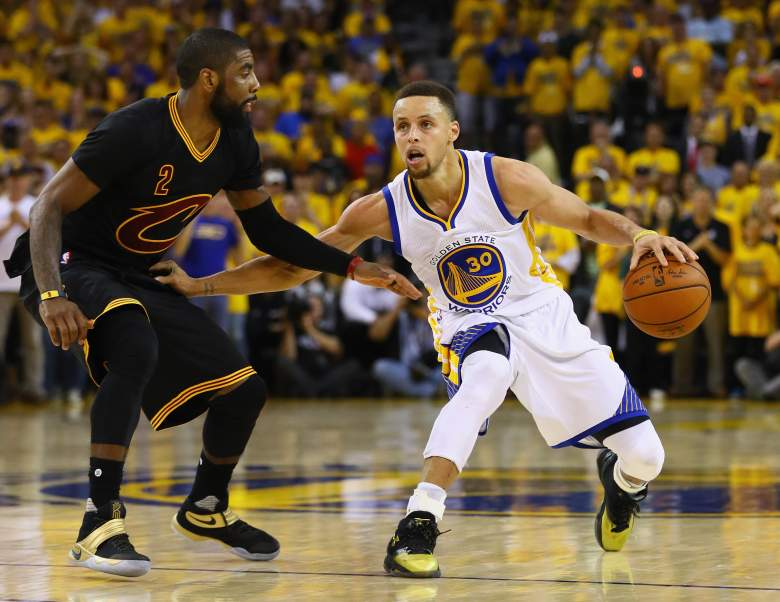 Stephen Curry Kyrie Irving 2016 NBA Finals