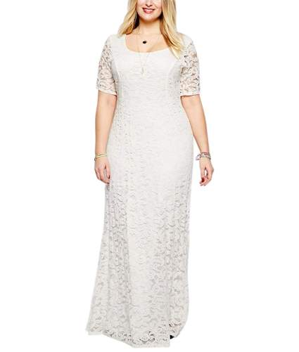 Plus Size Wedding Maxi Dress