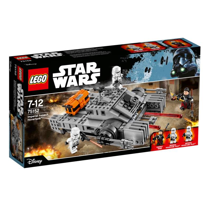 Star Wars LEGO sets, Imperial Assault Hovertank, Rogue One toys