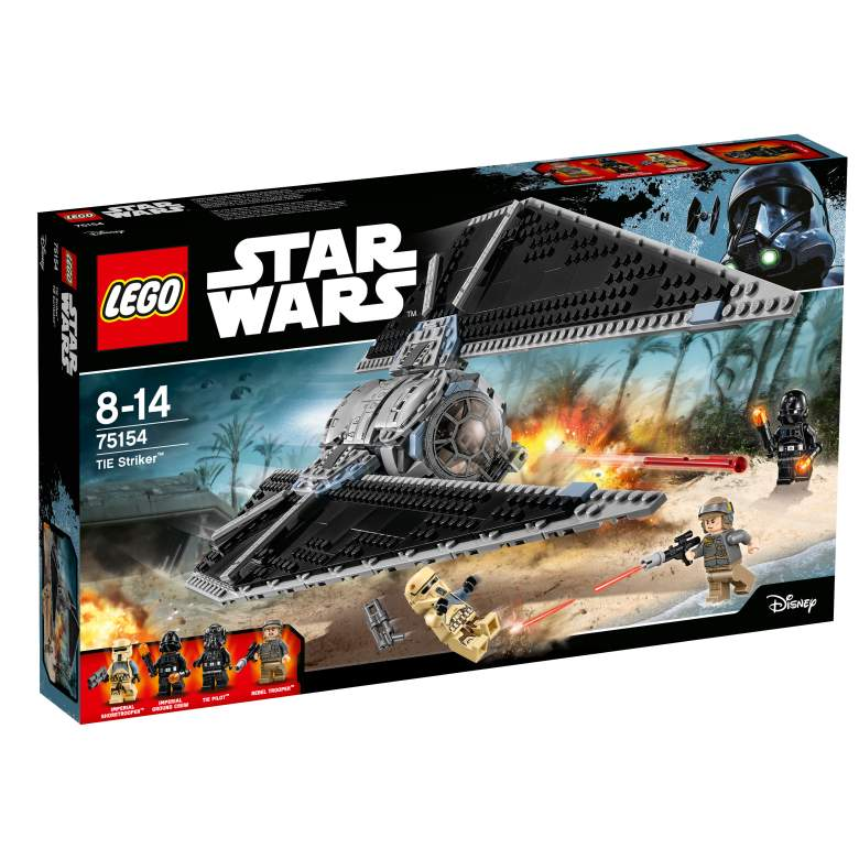 Star Wars, TIE Striker, TIE Striker review, Star Wars LEGO review