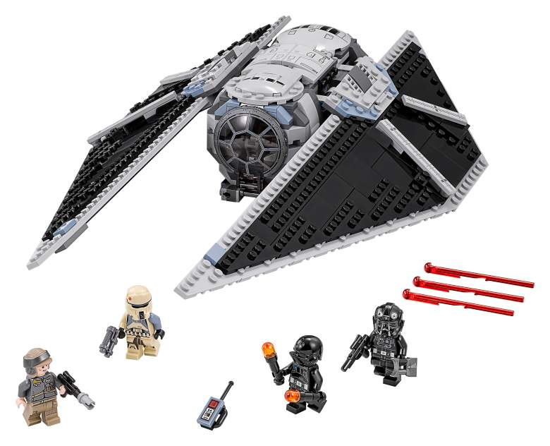 TIE Striker, LEGO Tie Striker, TIE Striker Review, Star Wars toy review