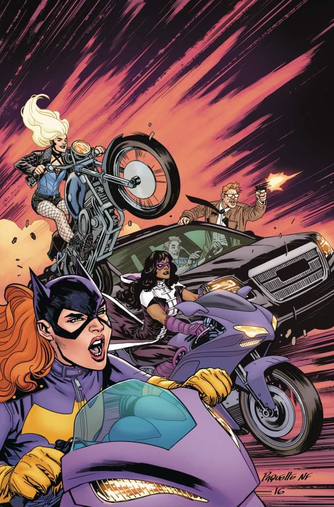 Yanick Paquette, Batgirl & The Birds of Prey, DC Comics, New Wednesday