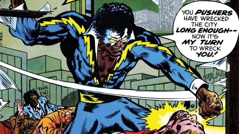 Black Lightning, DC Comics, Greg Berlanti, new DC Comics TV series