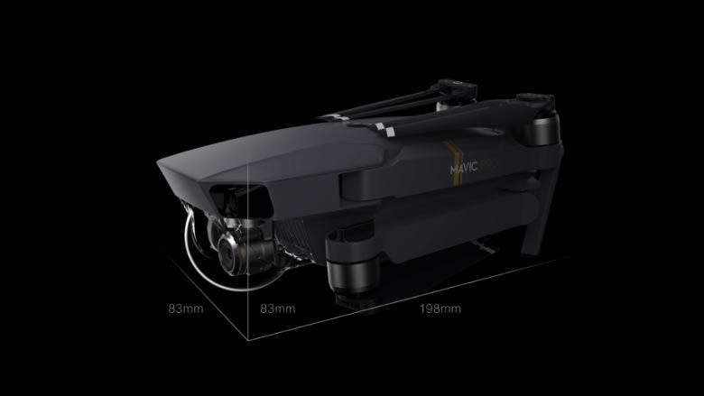 DJI mavic PRO drone specs