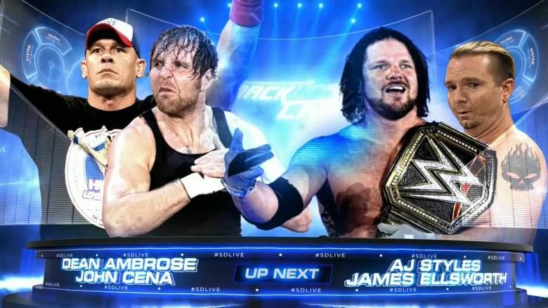 James Ellsworth smackdown, James Ellsworth match, James Ellsworth graphic