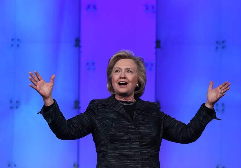 Hillary Clinton, Hillary Clinton speech