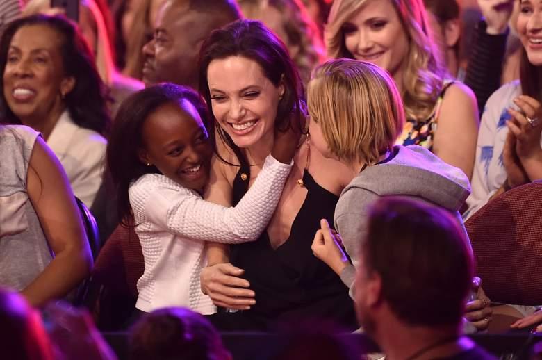 Zahara Marley kids choice awards, angelina jolie zaraha, angelina jolie daughter