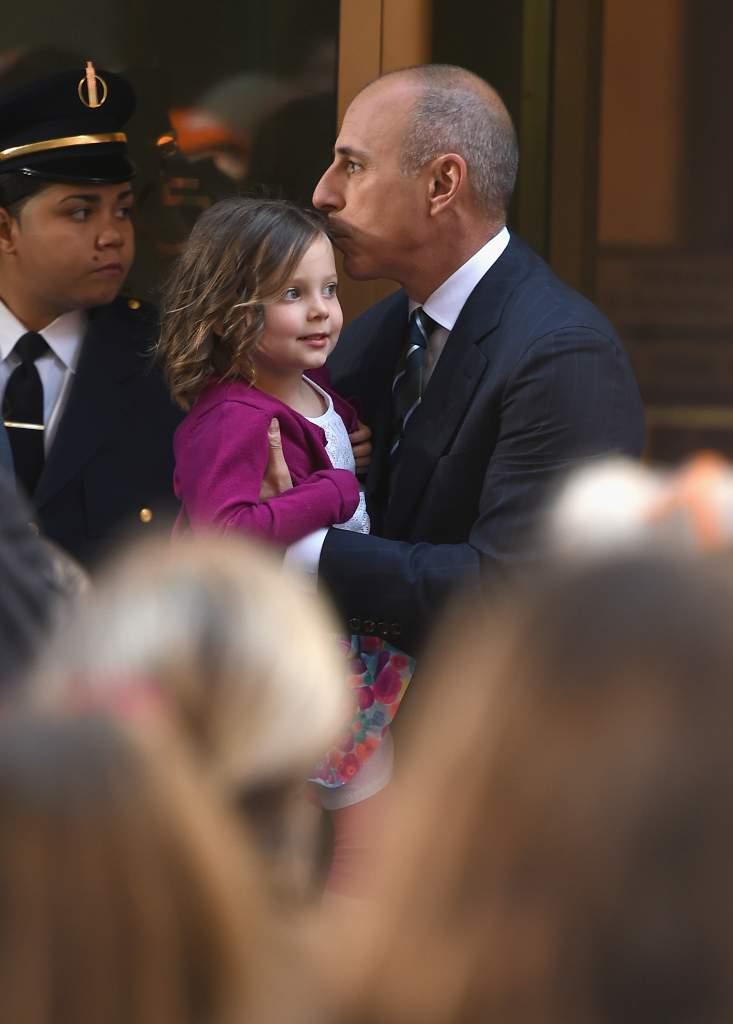 Matt Lauer, Mat Lauer daughter
