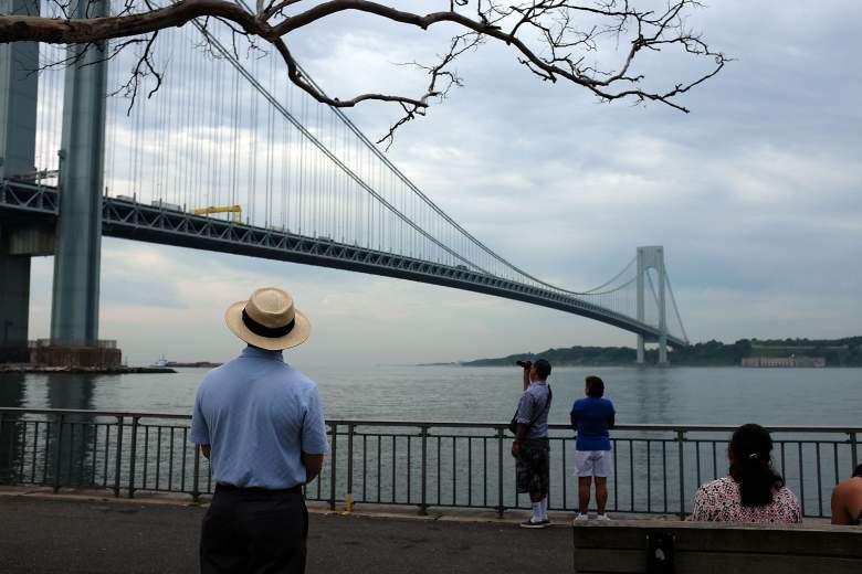 The Verrazano Bridge in NYC. (Getty)