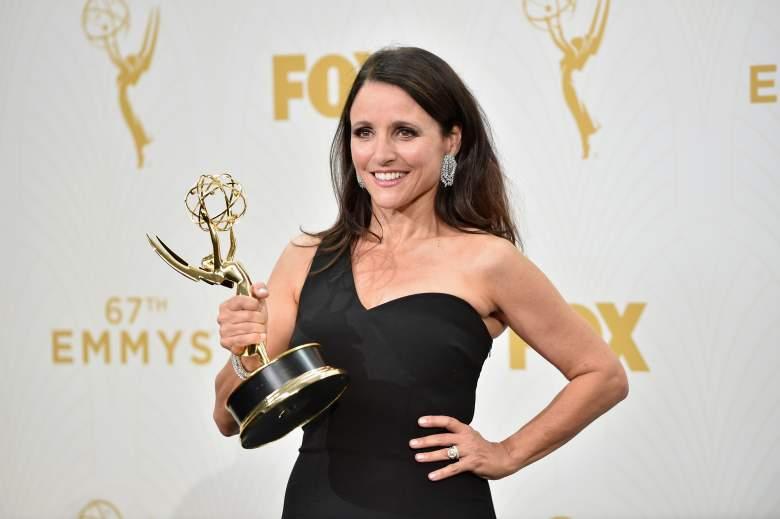 Julia Louis-Dreyfus, Veep, Emmy winners, Veep star