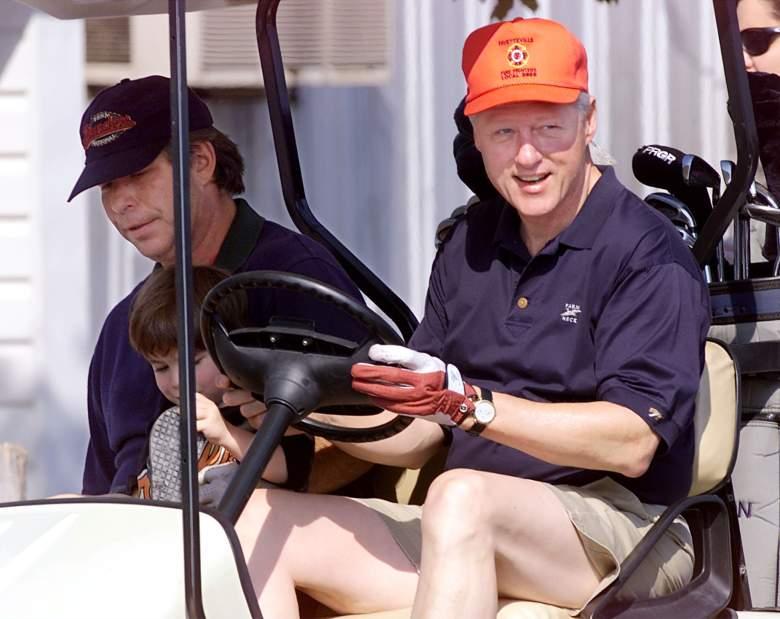 Tony Rodham, Bill Clinton