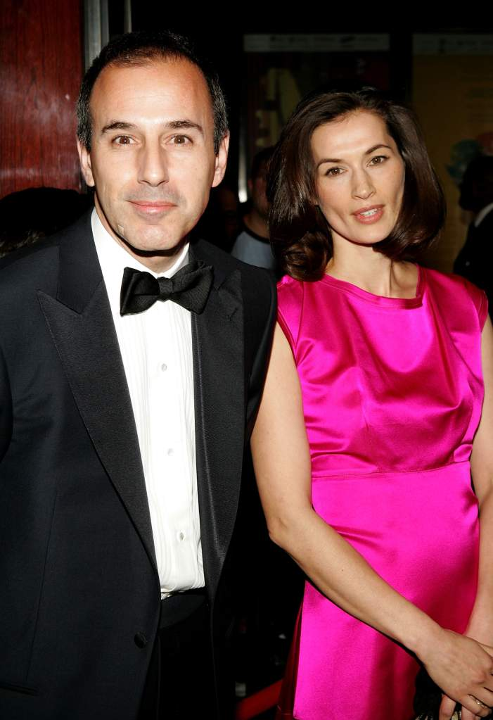 Matt Lauer, Matt Lauer wife, Annette Roque