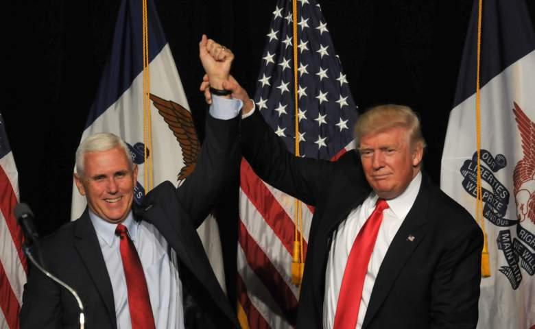 donald trump and mike pence, mike pence bio, mike pence discrimination