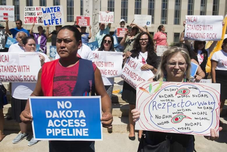 North Dakota Access Pipeline protests