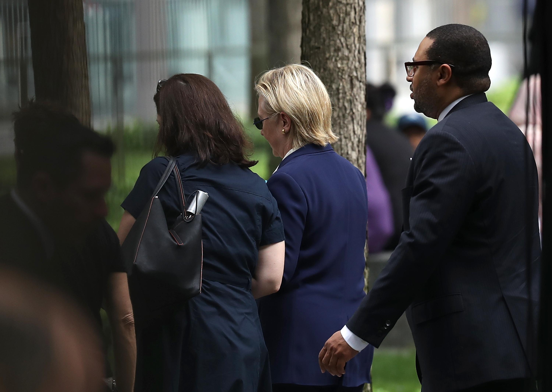 Hillary Clinton Ceremony 9/11