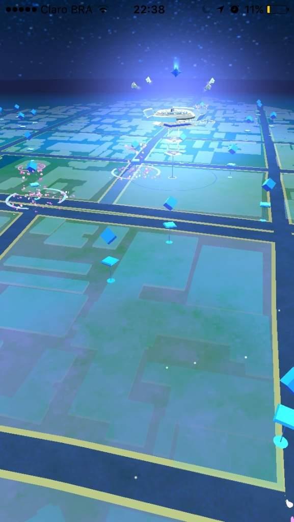 pokemon go freeze gym