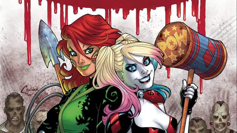 Harley Quinn, Poison Ivy, Harley Quinn comics, Harley Quinn Amanda Conner