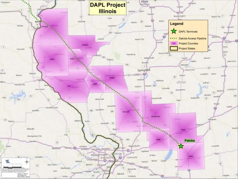 dakota access pipeline illinois