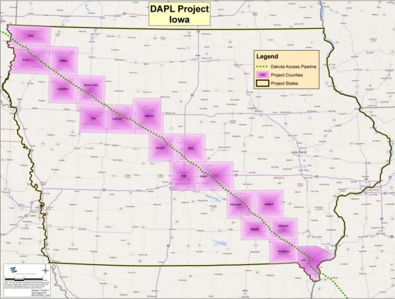 dakota access pipeline iowa