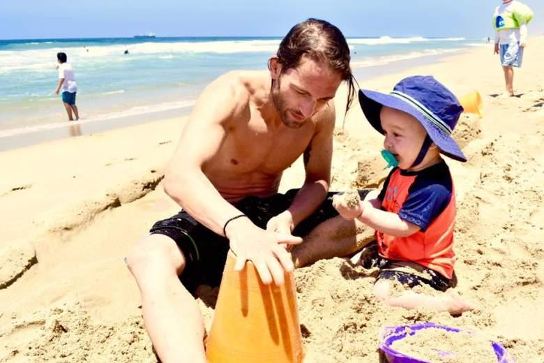 Marcus Kowal and his son, Liam. (Facebook/Marcus Kowal)