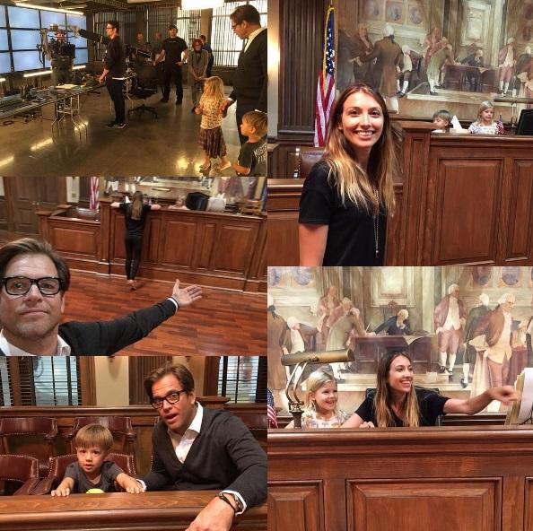 Michael Weatherly wife, Michael Weatherly kids, Bull star, Bojana Jankovic