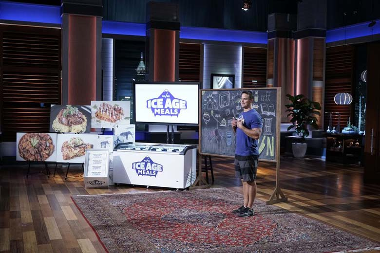 ice age meals, ice age meals shark tank