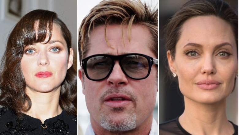 DId Brad Pitt cheat on angelina jolie, brad pitt angelina jolie divorce caused by cheating, Bratt Pitt and Marion Cotillard
